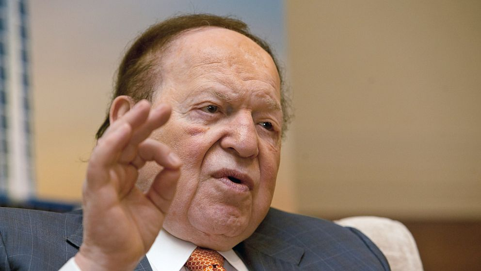 Sheldon Adelson plans to develop European integrated casino resorts
