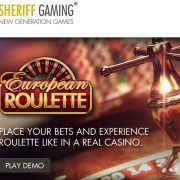sheriff gaming software