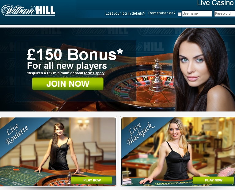 william hill online casino casino lucky lady
