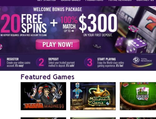 Harrahs Casino combines online and land based gambling