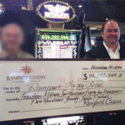 Winner won 14 millions dollars in Megabucks Progressive Jackpot