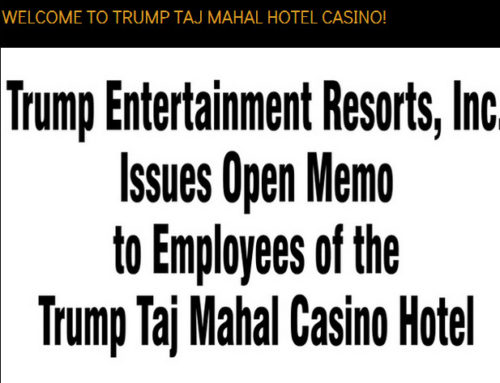 Last ditch effort to save Atlantic City Taj Mahal Casino