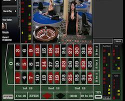 Online roulette with live dealer