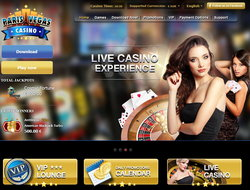 Paris Vegas Casino : UK #1 live dealers