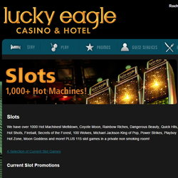 Slots in Lucky Eagle Casino