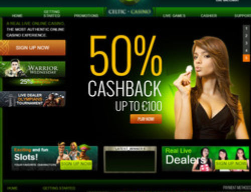 Celtic Casino prolongs its live games tournaments