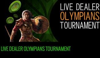 Live Dealer Olympians Tournaments of Celtic Casino