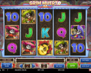 Grim Muerto Slotof Play'n GO software
