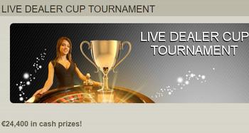 Live Dealer Cup Tournament Fairway Casino