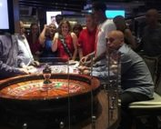Leslie Sategna wins at roulette at Aria Casino