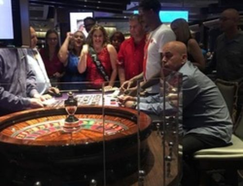 Leslie Sategna wins at roulette in Las Vegas every ten years