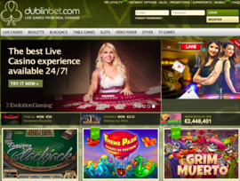 Dublinbet : best live casino