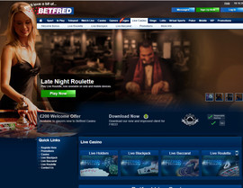 Betfred Live Dealers Casino
