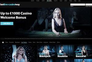 Betway Casino: #1 Live dealers casino
