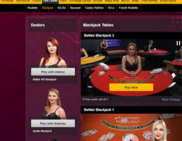 Betfair: Online Casino with Live Dealers