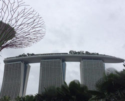 Marina Bay Sands, one of the 2 casinos in Singapore