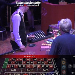Authentic Roulette from the Casino International Georgia