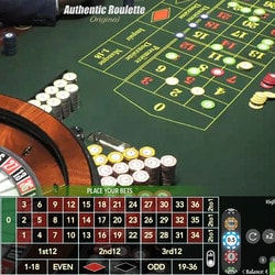 Authentic Roulette Original From Saint Vincent Casino