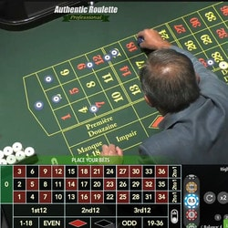 Authentic Roulette Professional live from the Saint Vincent Casino