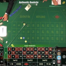 Authentic Roulette Superieur from Saint Vincent Casino