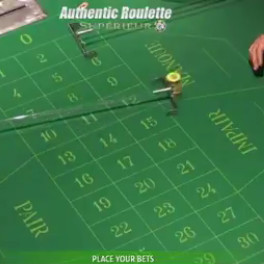 4 Authentic Gaming roulette tables from the Saint-Vincent Casino