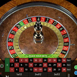 Live Auto Roulette 30s from Authentic Gaming