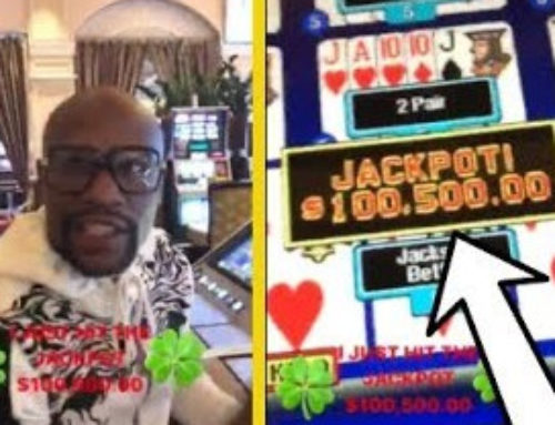 Las Vegas Casinos : Floyd Mayweather wins jackpots