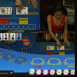 Play Baccarat Live from Queenco Casino on Dublinbet