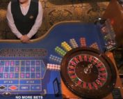 Ezugi's Online Roulette live from the Royal Casino Riga