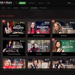 Bitstarz is a bitcoin casino with Evolution Gaming and Asia Gaming live games