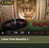 Evolution Gaming Salon Privé : Live Blackjack and Roulette