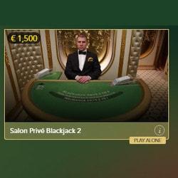 Salon Privé Blackjack from Evolution Gaming