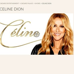 Celine Dion Forced to Cancel her Concerts at Caesars Palace Casino