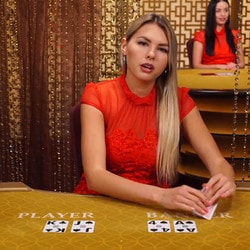 Live baccarat with real dealers