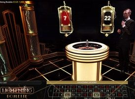 Lightning Roulette is a new live roulette concept from Evolution Gaming
