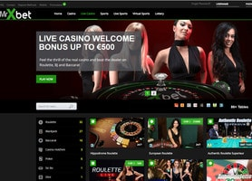 Live Dealers Casino strongly recommends MrXbet