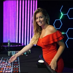 Blaze Roulette from Authentic Gaming available in Casino Extra