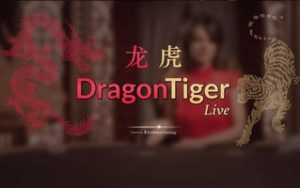 Dragon Tiger : Simple rapid version of live baccarat