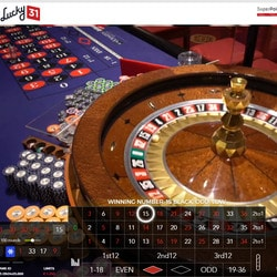 Live Roulette Tournament Direct from Foxwoods Casino on Lucky31