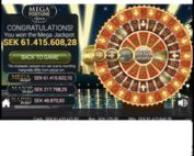 Netent's Mega Fortune Jackpot won once again