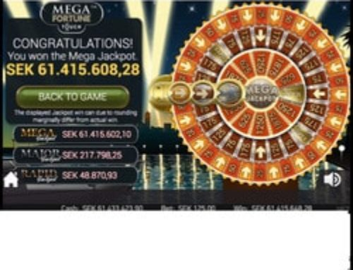 Netent's Mega Fortune Progressive Jackpot won once again