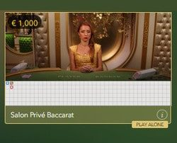 Evolution Gaming launches Baccarat Salon Privé