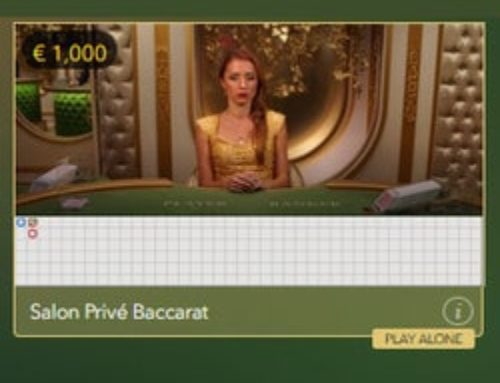 Evolution Gaming launches Baccarat Salon Privé in its VIP range