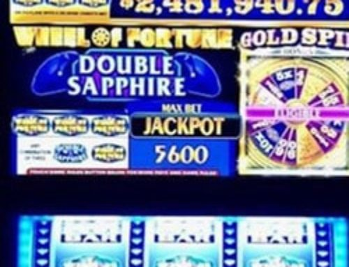 Player wins a Progressive Jackpot in the Borgota Casino