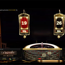 Lightning Roulette in Stakes Casino