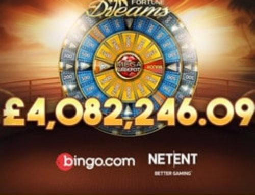 Englishman wins Netent's Mega Fortune Dreams Progressive Jackpot