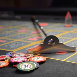 Robbery of Roulette chips in Monte-Carlo Casino