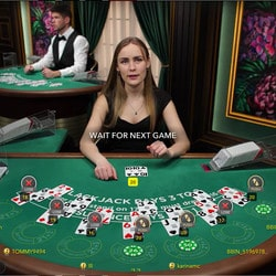 Live Blackjack : wide range of online blackjack tables