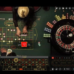 Live Roulette's Evolution Gaming from the London Hippodrome Casino