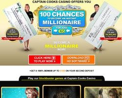 Mega Moolah Progressive Jackpot won in Captain Cook Casino